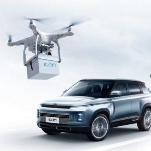 Geely ya entrega los coches a sus clientes a través de Drones. Quien será el próximo