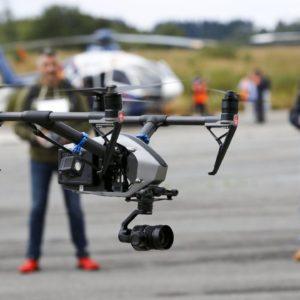 Denunciados dos hombres por grabar con drones vídeos en zonas prohibidas de A Coruña